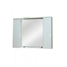 Зеркало шкаф Альба 100