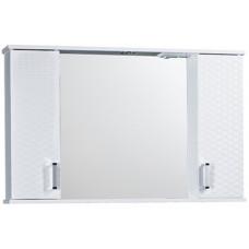 Зеркало шкаф Джульетта 100 (плетение)