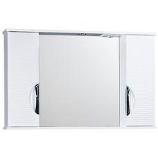Зеркало шкаф Джульетта 100 (волна)