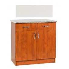 Рабочий стол  80 (2 ящика) (ЛДСП)
