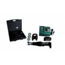 Набор : компактная аккумуляторная пресс машина + ящик + зарядное устройство + аккумулятор 9,6 HENCO